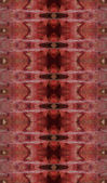 Seamless red aggressive pattern. — 图库照片