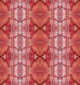 Seamless red decorative pattern. — 图库照片