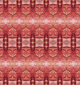 Seamless red decorative pattern — 图库照片