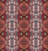 Seamless red decorative pattern. — Stock Photo
