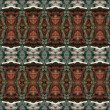 Seamless gothic decorative pattern. - Stock Photo