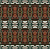 Seamless gothic decorative pattern. — Stock Photo