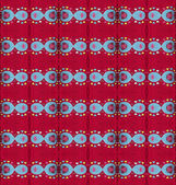 Seamless simple red pattern with hearts. — 图库照片