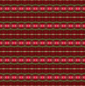 Seamless glowing red pattern. — Stock Photo