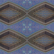 Oriental mosaic -seamless  pattern. - Stock Photo