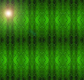 Seamless green luminous net pattern. — Stock Photo
