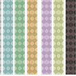Mosaic seamless pattern different colors — Stock Photo