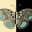 Royalty-Free Stock Vectorafbeeldingen: Abstract  butterfly