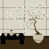 Японское происхождение — Cтоковый вектор