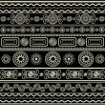 Ethnic ornamental pattern — Stock Vector