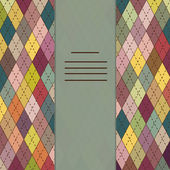 Colorful mosaic background card — Stock vektor