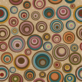 Seamless pattern with colorful circles — 图库矢量图片