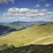 Stock Photo: Thirlmere from Lower Man