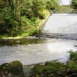 Stock Photo: Lake Spillway