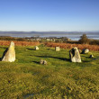 Stone Circle over Bardsea — Stock Photo