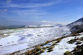покрытые снегом инглборо — Стоковое фото