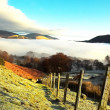 Winter scene in the Lakes — Stockfoto