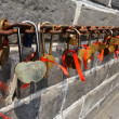 Stock Photo: Love Padlocks