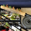 Trout fishing Equipment — Stock Photo