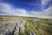 Pavimento de pedra calcária — Foto Stock