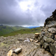 Pike of Blisco Cairn — Stock Photo