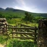 Gate Way to England's highest Peak — Stock Photo #48739977