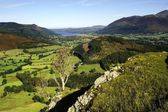 Bassentwaithe from Cat Bells — Stock Photo