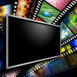 Movie Screen Film Images — Stock Photo #15551817