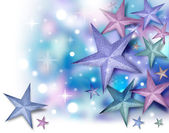 Glitter Star Background with Twinkles — Stock Photo