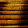 Dark Dirty Grunge Stairs — Stock Photo