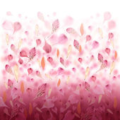 Pink Love Flower Valentine Background — Stock Photo