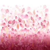 Pink Love Flower Valentine Background — Stock Photo