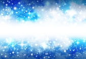 Bright Star Space Background with Sparkles — Stock Photo