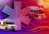 Medical Rescue Ambulance Abstract Photo — Stock Photo