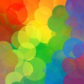 Rainbow Dots Background — Stock Photo