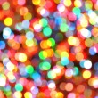 Bright Colorful Christmas Lights Background — Stock Photo