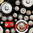 Abstract Batteries Background — Stock Photo
