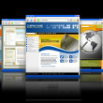 Web Technology Internet Websites Reflection — Stock Photo