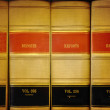 Library Law Books — Stock Photo