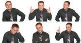 ビジネスの男性からの表現 — ストック写真