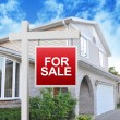 Real Estate House in Hands — Stock Photo #22455561