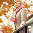 Autumn fashion girl — Stock Photo #13591423