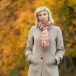 Autumn fashion girl — Stock Photo #13591504