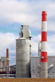 Moderne Industriegebäude — Stockfoto