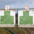 Stock Photo: Two targets