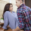 Portrait of a young couple having sex — Stock Photo #16202885