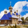 Wooden Orthodox church — Stock Photo