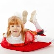 Young girl in costume of fairy — Stock Photo #19146563