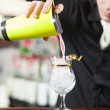 Bartender is making cocktail — Stock Photo #19991663