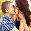 Happy young couple in love — Stock Photo
